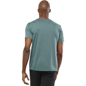 Salomon Agile Graphic T-shirt Homme, green gab